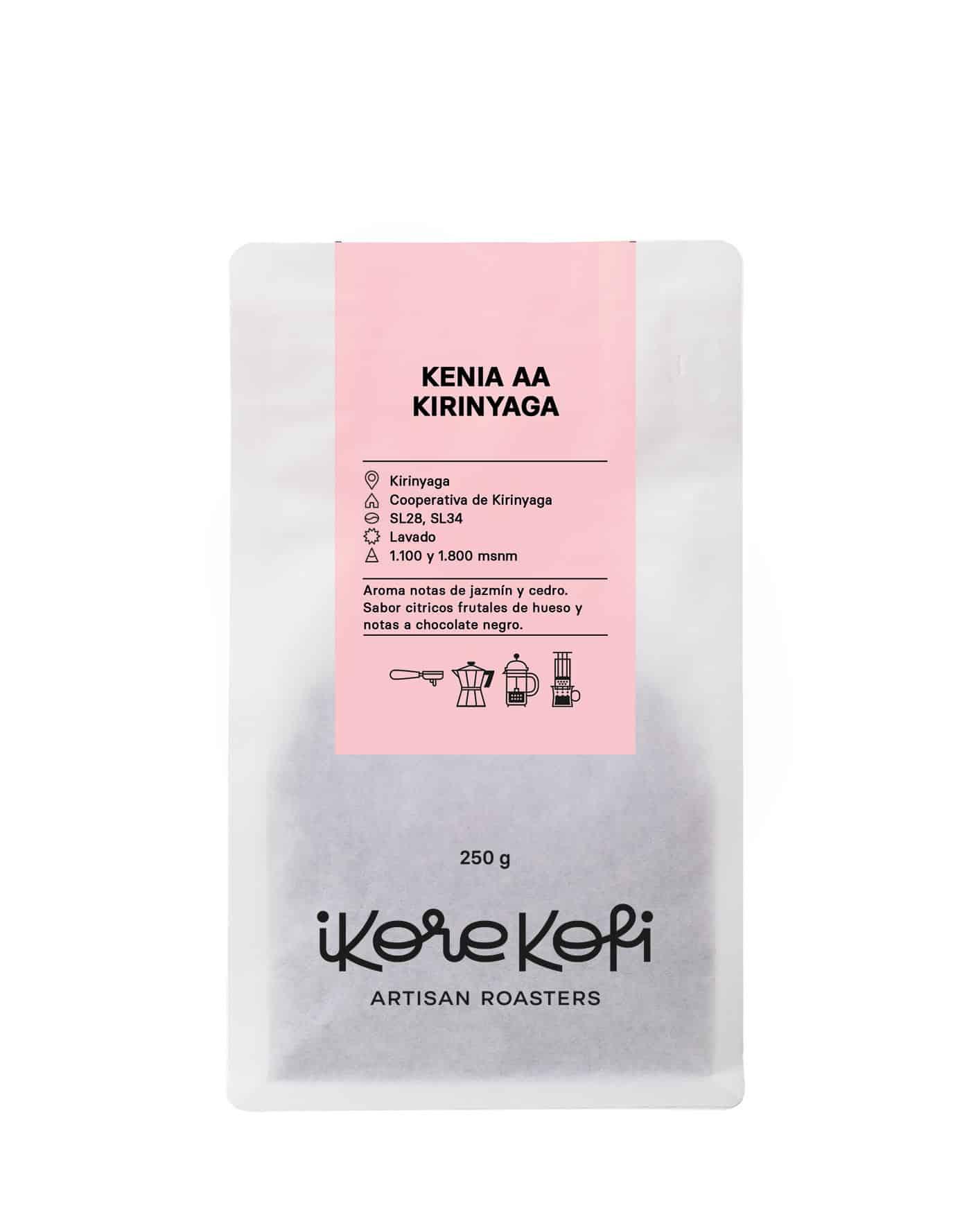 Café de ÁFRICA-Kenya AA Kirinyaga